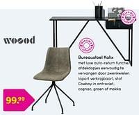 Bureaustoel kalix-Woood