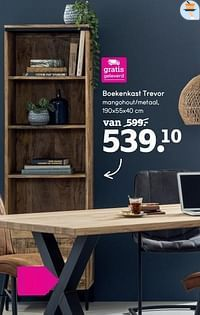 Boekenkast trevor-Huismerk - Leen Bakker