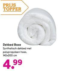 Dekbed base-Huismerk - Leen Bakker