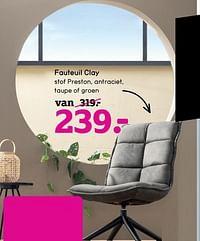 Fauteuil clay-Huismerk - Leen Bakker