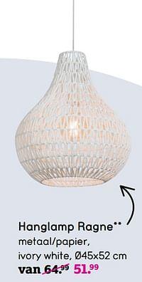 Hanglamp ragne-Huismerk - Leen Bakker
