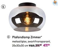Plafondlamp zimmer-Huismerk - Leen Bakker
