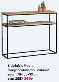 Sidetable kyan-Huismerk - Leen Bakker