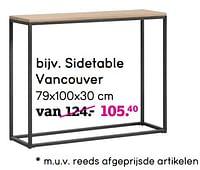 Sidetable vancouver-Huismerk - Leen Bakker