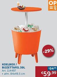 Koelbox - bijzettafel 30l-Huismerk - Zelfbouwmarkt