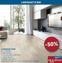 Laminaat 8 mm-Huismerk - Zelfbouwmarkt