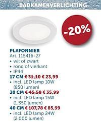Plafonnier-Huismerk - Zelfbouwmarkt