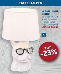 Tafellamp hond-Huismerk - Zelfbouwmarkt