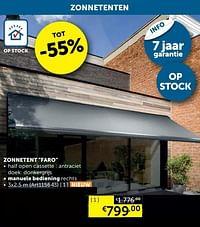 Zonnetent-Huismerk - Zelfbouwmarkt
