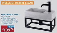 Fonteinpack-Huismerk - Zelfbouwmarkt