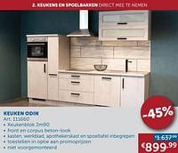 Keuken odin-Huismerk - Zelfbouwmarkt