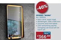 Spiegel mona-Huismerk - Zelfbouwmarkt