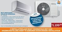 Split-airco qlima: koelen en verwarmen-Qlima