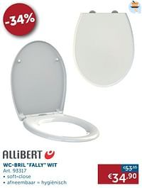 Wc-bril fally wit-Allibert