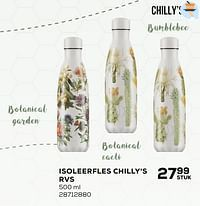 Isoleerfles chilly`s rvs-Chilly
