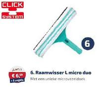 Raamwisser l micro duo-Leifheit