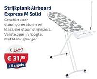 Strijkplankairboard express m solid-Leifheit