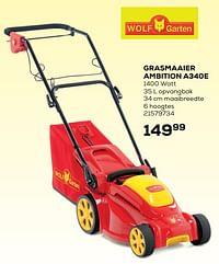 Wolf garten grasmaaier ambition a340e-Wolf Garten