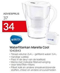 Brita waterfilterkan marella cool 1040843-Brita