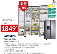 Samsung side by side rs68a8842slef-Samsung