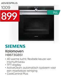 Siemens kolomoven hb673gbs1-Siemens