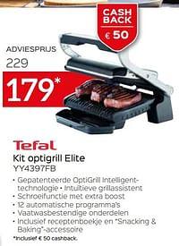 Tefal kit optigrill elite yy4397fb-Tefal