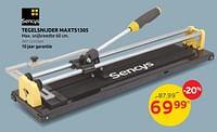 Tegelsnijder maxts1305 sencys-Sencys