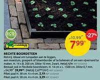Rechte boordsteen-Ubbink
