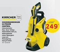 Kärcher hogedrukreiniger k4 power control-Kärcher