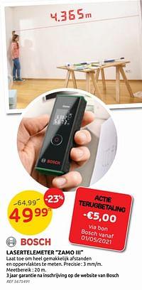 Lasertelemeter zamo iii bosch-Bosch