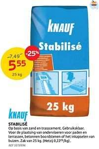 Stabilisé-Knauf