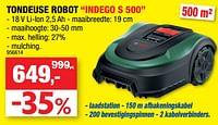 Bosch robotmaaier indego s 500-Bosch