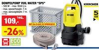 Kärcher dompelpomp vuil water sp5-Kärcher