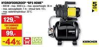 Kärcher hydrofoorgroep bp3 home-Kärcher