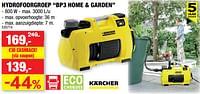 Kärcher hydrofoorgroep bp3 home + garden-Kärcher