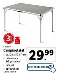 Campingtafel-Crivit