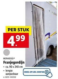 Franjegordijn-Meradiso