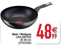 Wok - wokpan unlimited-Tefal