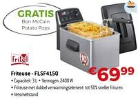 Fritel friteuse - flsf4150-Fritel
