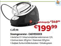 Calor stoomgenerator - cagv9550c0-Calor