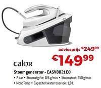 Calor stoomgenerator - casv8021c0-Calor