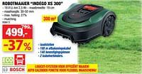 Bosch robotmaaier indego xs 300-Bosch