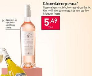 Coteaux-d`aix-en-provence