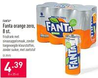 Fanta orange zero-Fanta