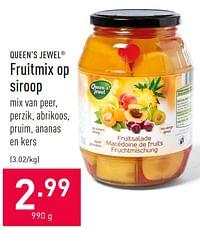 Fruitmix op siroop-Queen
