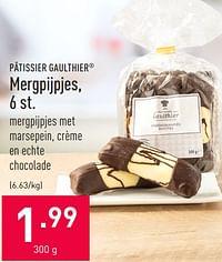 Mergpijpjes-Patissier Gaulthier