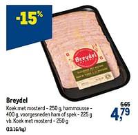 Breydel koek met mosterd-Breydel
