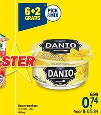Danio verse kaas vanille-Danone