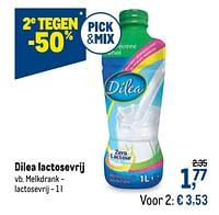 Dilea melkdrank - lactosevrij-Dilea