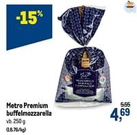 Metro premium buffelmozzarella-Huismerk - Makro